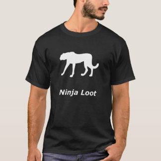 Tshirt Pilhagem de Ninja da chita