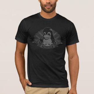 Tshirt Pinguim de Tux - (Linux, Open Source, Copyleft,
