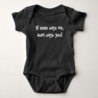 Tshirt Presente do bebê das mães da tia Engraçado Bonito