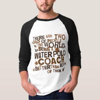 Tshirt Presente do treinador do pólo aquático