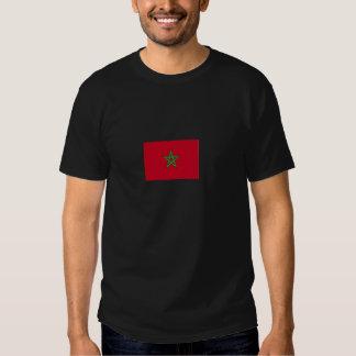 Tshirt preto da bandeira do Moorish