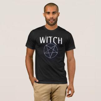 Tshirt preto da bruxa dos homens