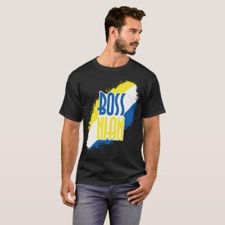 Tshirt preto de Bossnian