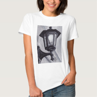 Tshirt preto e branco das senhoras