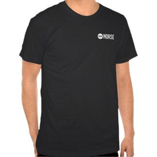 Tshirt preto liso dos noruegueses