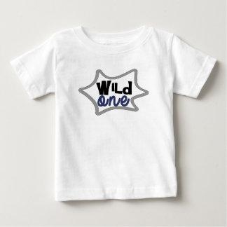 Tshirt Primeiro aniversário do menino, o selvagem,