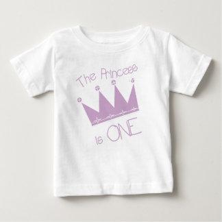 Tshirt Princesa Primeiro Aniversário