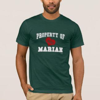 Tshirt Propriedade de Mariah