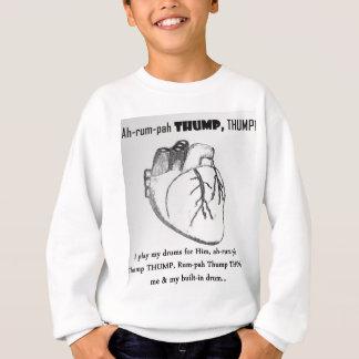 Tshirt Pulsação do coração para Jesus