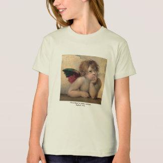 Tshirt Querubim de Raphael 1514 do ~ de Sistine Madonna