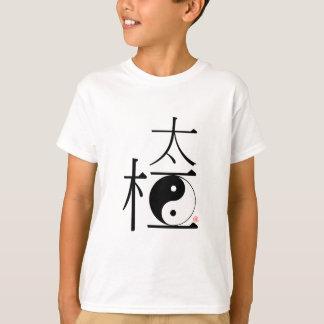 Tshirt Qui chinês Ying Yang da TAI