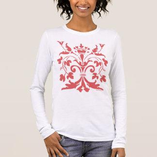 Tshirt Rainha original da flor de lis (salmões escuros)