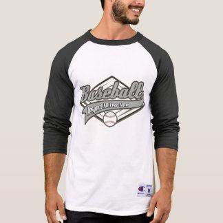 Tshirt Respeito do basebol