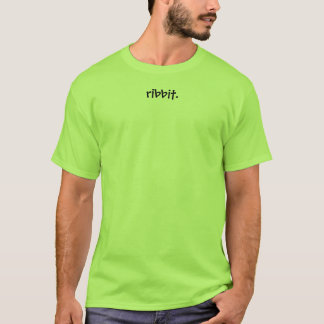 Tshirt ribbit.