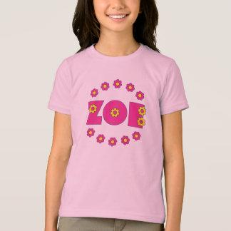 Tshirt Rosa de Zoe Flores