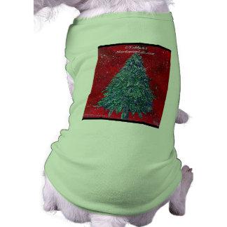 Tshirt roxo do cão de Kush Camisa Sem Mangas Para Cachorro