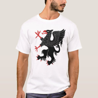 Tshirt Sable desenfreado do grifo