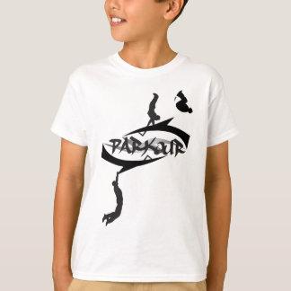 Tshirt Sacudir abstrato de Parkour