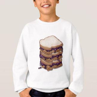 Tshirt Sanduíches da manteiga e da geléia de amendoim
