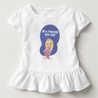 Tshirt Seja uma princesa, burro do pontapé! - Criança