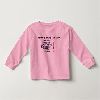 Tshirt Ser humano do nível 2