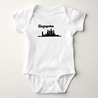 Tshirt Skyline de Singapore
