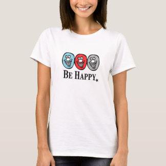 Tshirt Smiley face (esteja feliz)