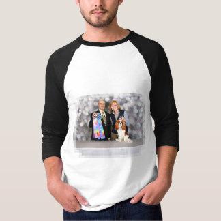 Tshirt Spaniel de rei Charles descuidado - Hudson