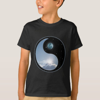 Tshirt Sun-Lua Yin-Yang
