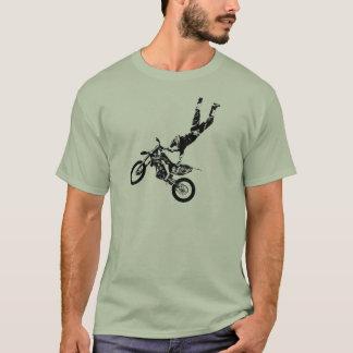 Tshirt Superman da bicicleta da sujeira