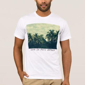 Tshirt T das palmeiras dos homens