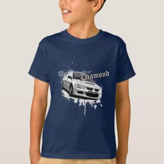 Tshirt T do diamante de Evo