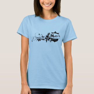 Tshirt T do logotipo de Swirly