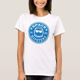 Tshirt T macio do logotipo das mulheres de Hipsters® do