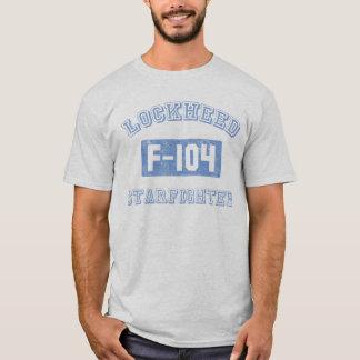 Tshirt T mais reto do avião de combate