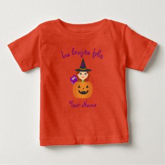 """Tshirt """"T-shirt do Dia das Bruxas da bruxa feliz"""""""