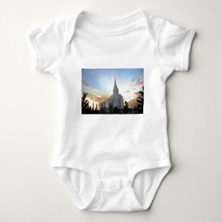 Tshirt Templo de Utá da montanha de Oquirrh do mormon de