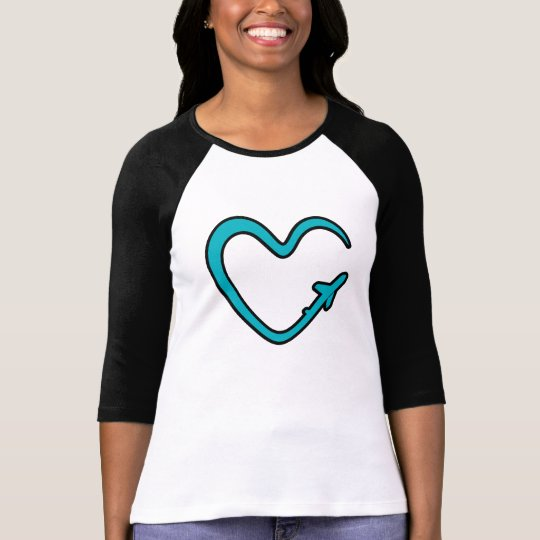 Tshirt The love to fly 2