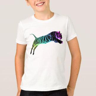 Tshirt Tigre Multi-Colorido