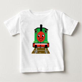 Tshirt Tom da criança o trem do tanque