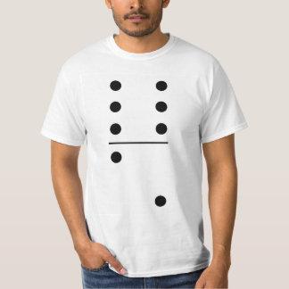 Tshirt Traje do grupo dos dominós 6-2