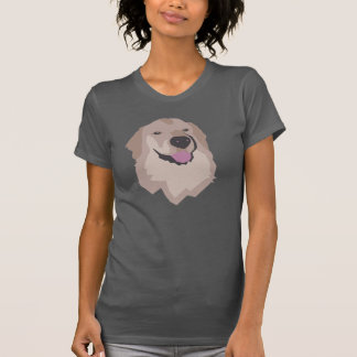Tshirt Tyson o golden retriever