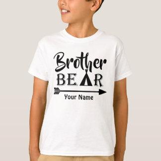 Tshirt Urso da seta do big brother personalizado