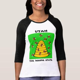 Tshirt Utá o estado da colmeia