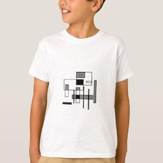 Tshirt Vaca abstrata