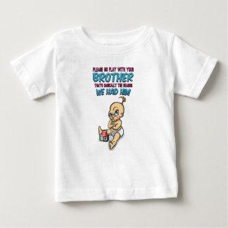 Tshirt Vai o jogo com seu irmão - parentalidade perfeita