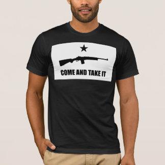 Tshirt VEM TOMAR-LHE - no. 1 do rifle do rancho Mini-14