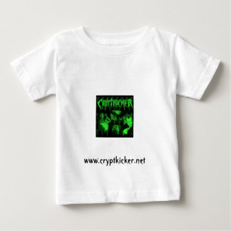 Tshirt verde das crianças da foto