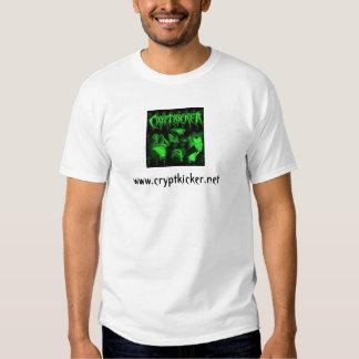 Tshirt verde dos homens da foto