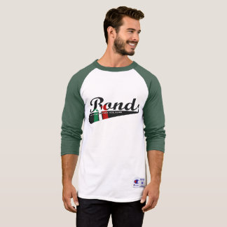 Tshirt Warmup do basebol das ligações